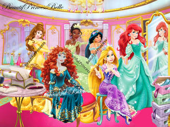 Disney Princesses -  Enchanted Room by BeautifPrincessBelle