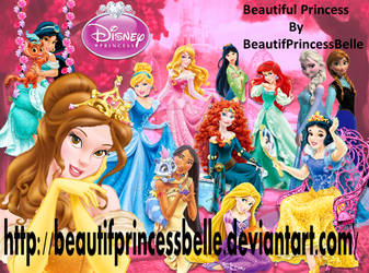 Disney Princesses - Dream In Pink by BeautifPrincessBelle