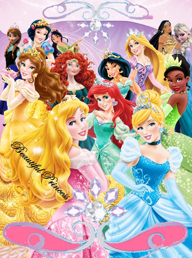 Disney Princesses - Royal Court by BeautifPrincessBelle on ...