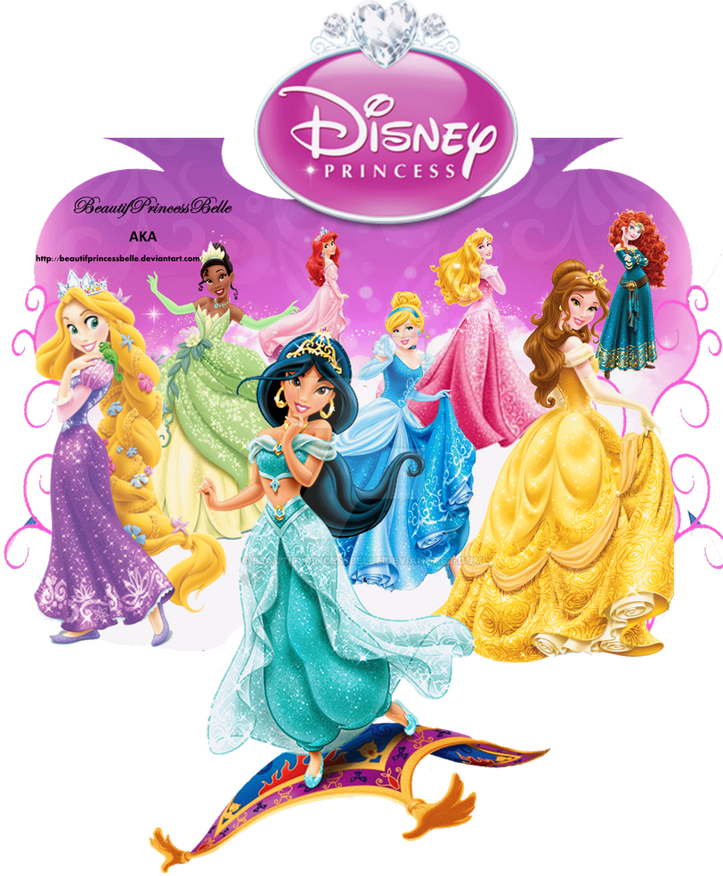 Disney princesses my disney princess mural by for Disney princess mural asda
