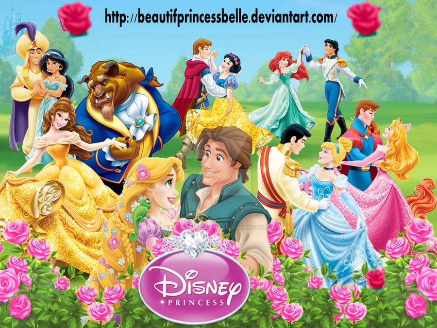 Disney Princesses - Royal Couple by BeautifPrincessBelle ...