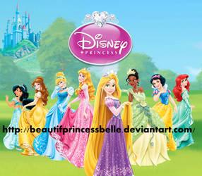 Disney Princesses - Beautiful Hearts by BeautifPrincessBelle