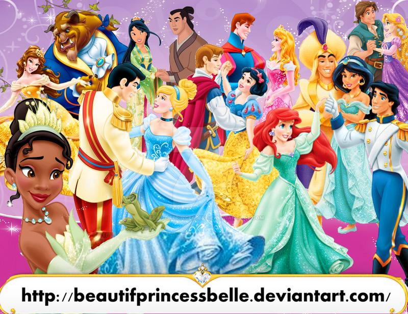 Disney princesses royal princes and princesses by - Prince et princesse disney ...