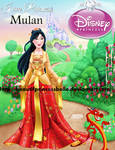 OriginalDisneyPrincess- Mulan By BPB