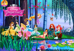 Disney Princesses - Visiting Grandmother Willow