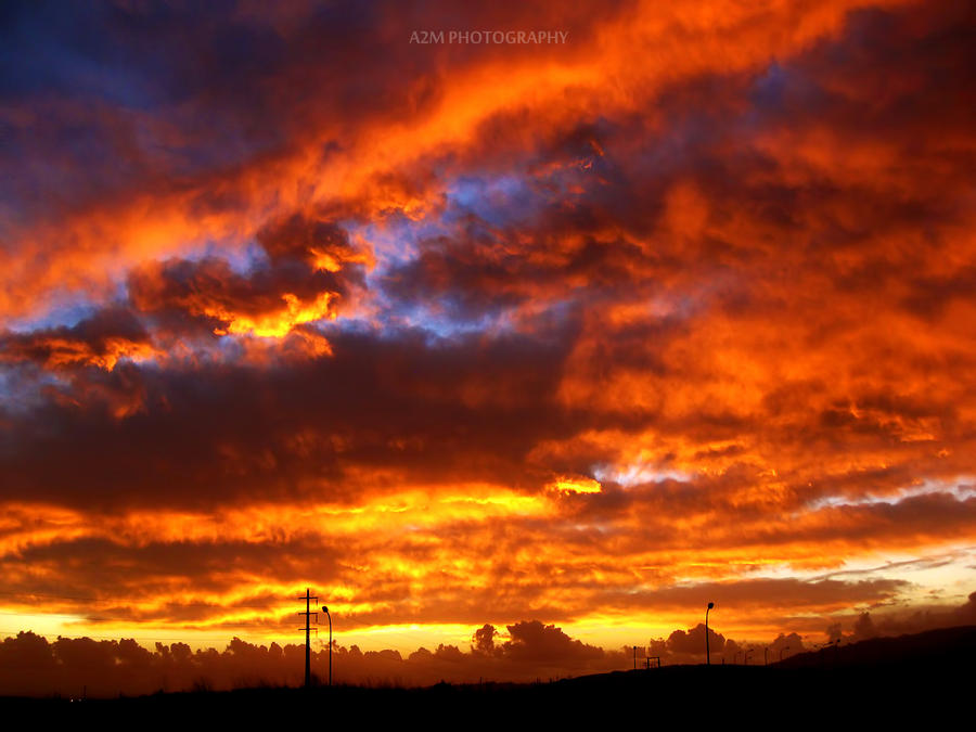 Burning Sky by A2Matos