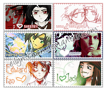 Stamp Colection by Eilyn-Chan