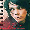 Gerard Way icon by Eilyn-Chan