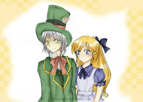 Alice and the Mad Hatter by Eilyn-Chan