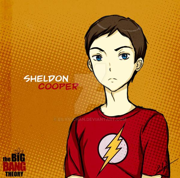 Sheldon Cooper (TBBT) by Eilyn-Chan