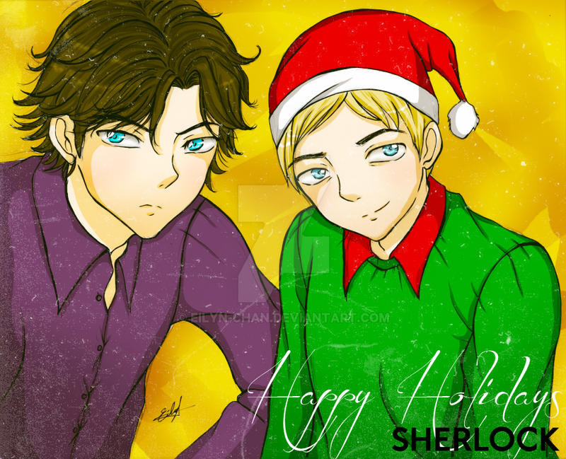 SHERLOCK: Happy Holidays by Eilyn-Chan