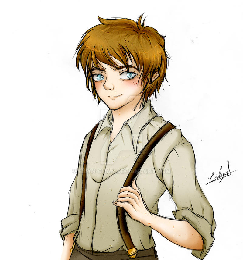 Bilbo Baggins (The Hobbit) by Eilyn-Chan