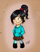 Vanellope by Eilyn-Chan