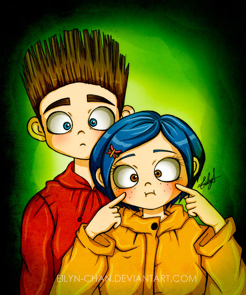 Norman and Coraline by Eilyn-Chan on DeviantArt
