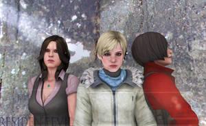 The ladies of Resident evil 6 by joobiewoobie