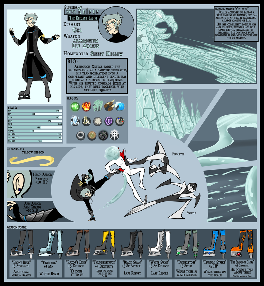 OI: Superior Xelege: The Elegant Sadist by Miniyuna