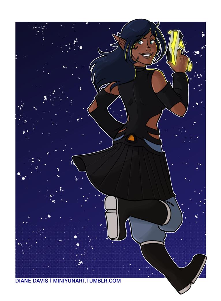 Commission: Xanta by Miniyuna