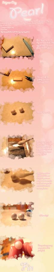 Polymer Clay Tutorial - Pearls