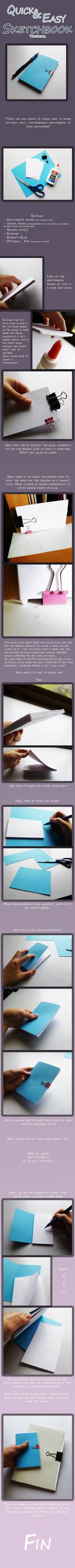 Easy Sketchbook Tutorial