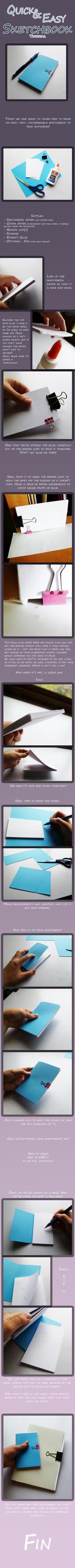 Easy Sketchbook Tutorial by MisttheWarrior