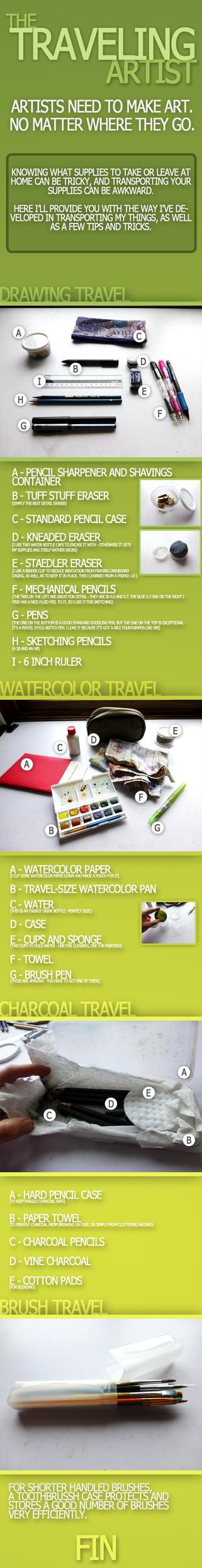The Traveling Artist by MisttheWarrior