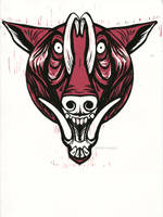 Snarly Animal Head Series: Babirusa by AmandaMyers