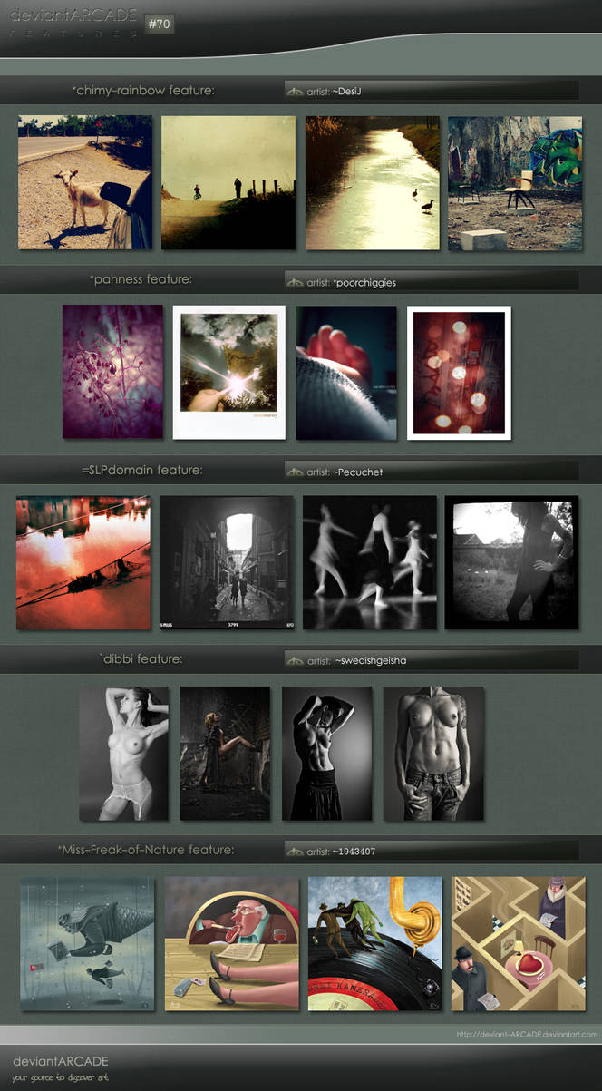 Featured Artists n.70