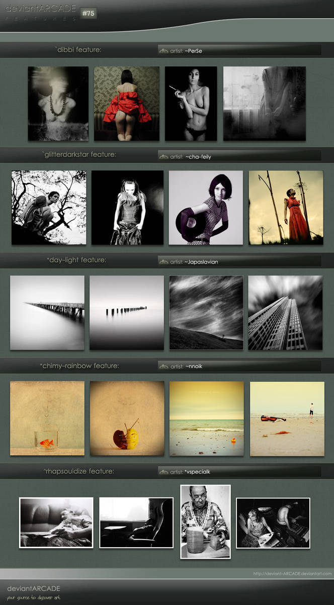 Featured Artists n.75