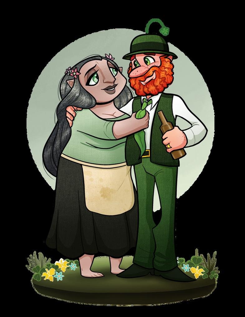 OC: Paddy and Sheela