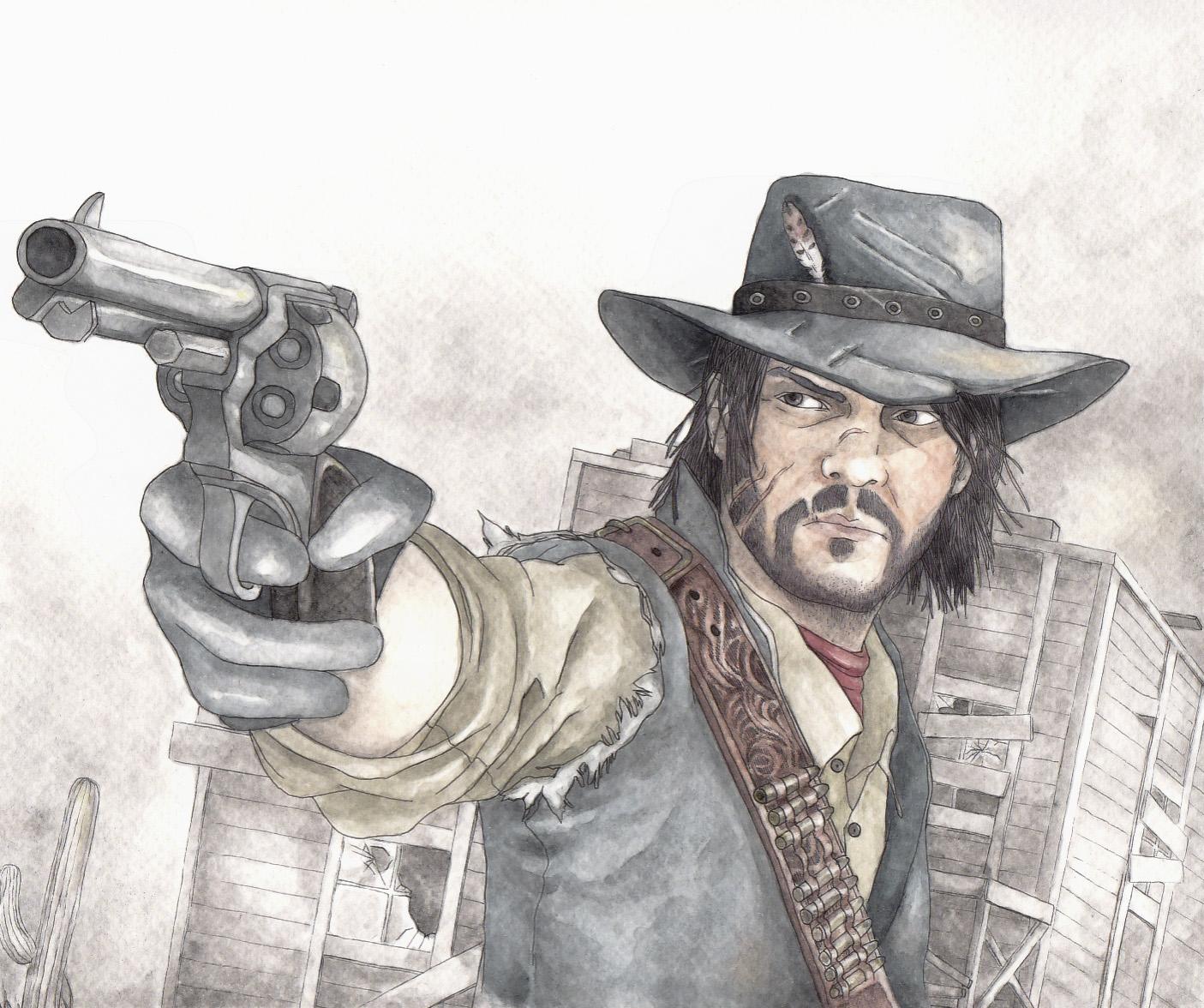 Deadman's Gun by Ryryna