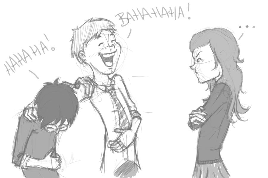 The Laughing Stock- Sketch by LadyShanana on DeviantArt
