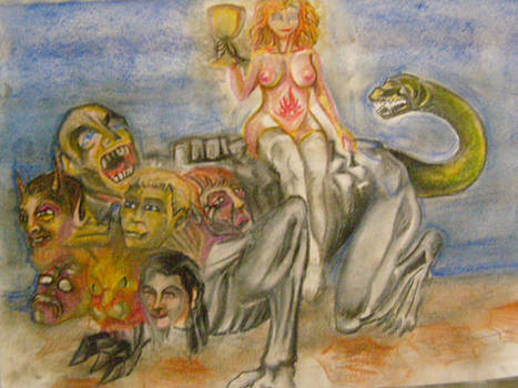 Babalon y bestia by MLinares