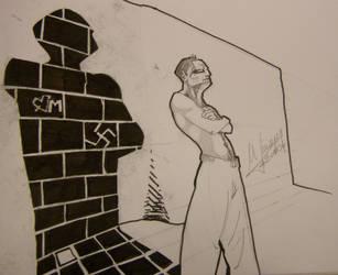 persona y sombra by MLinares