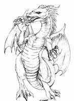 Dragon by MLinares