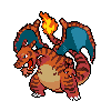 Lime's Charizard Sprite by miketennis on DeviantArt