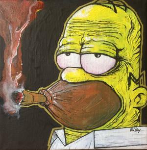 Homer J Smokesome (Simpsons)
