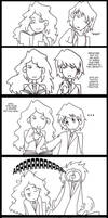 Ron and Hermione Comic Strip