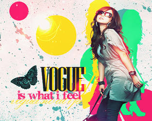 Vogue is what I feel by itakomalo
