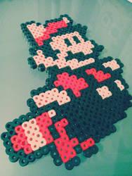 Mario Bros Hama Beads by itakomalo