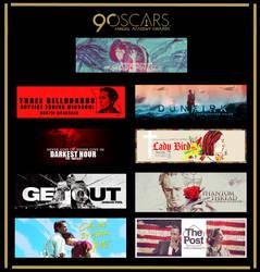 Tag Wall Especial: 90 Oscars Academy Awards by itakomalo