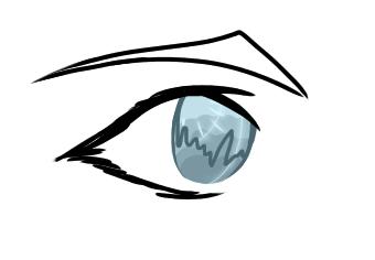 Just a Random Eye Drawing by ReverendPhantom