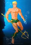 Comm Gauntlette's Aquaman