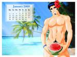 Pipo's Calendar 2009 January