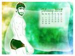 Glossy Pipo's Calendar 2012 - February