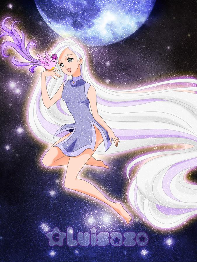 Glittering Moon by Luisazo