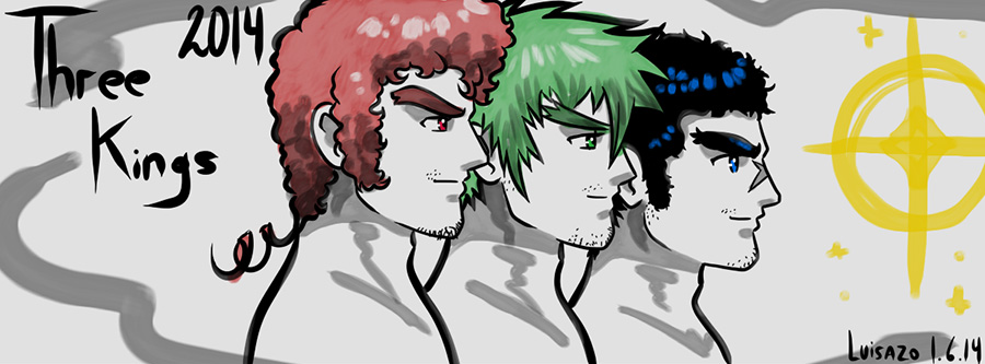 Three Kings 2014 by Luisazo