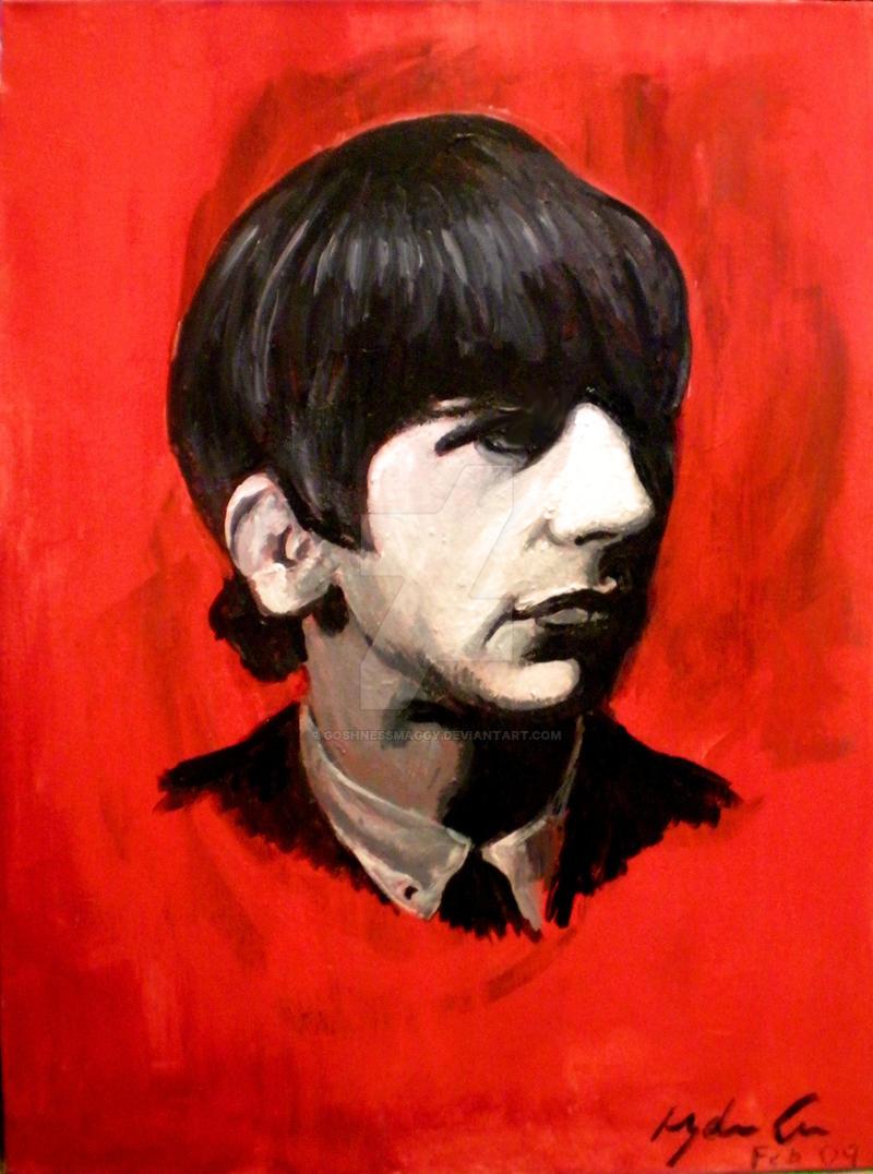 Ringo 'Stone' Starr by goshnessmaggy