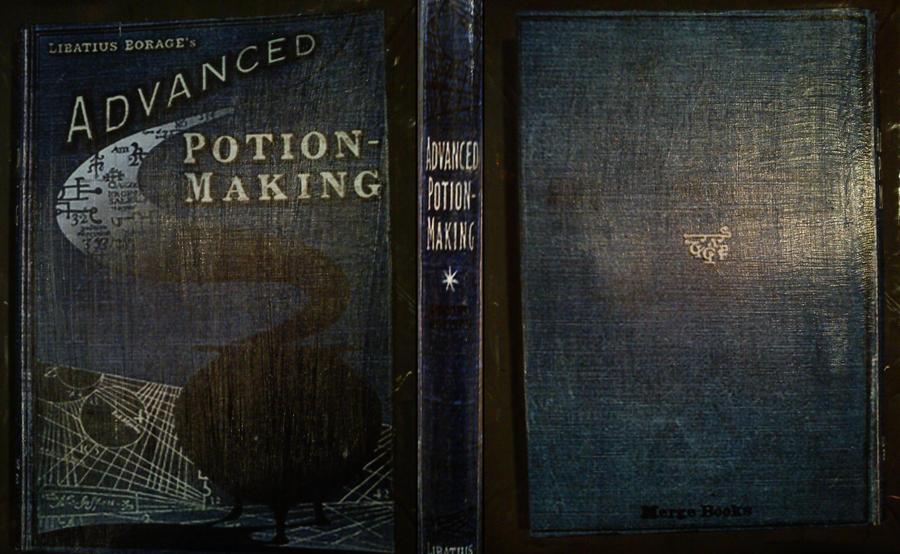 Making Book Cover Art ~ Advanced potion making book by kuroi miyoshi on deviantart