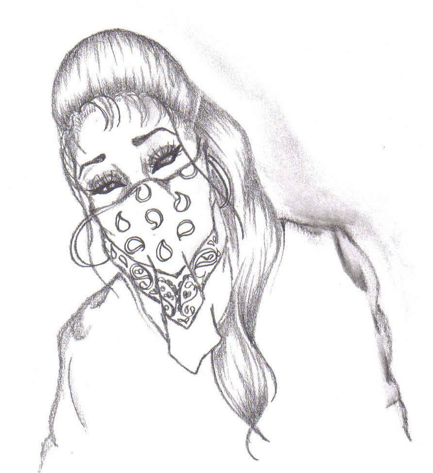 341780-gangster-girl-drawing by Its-Nemo on DeviantArt