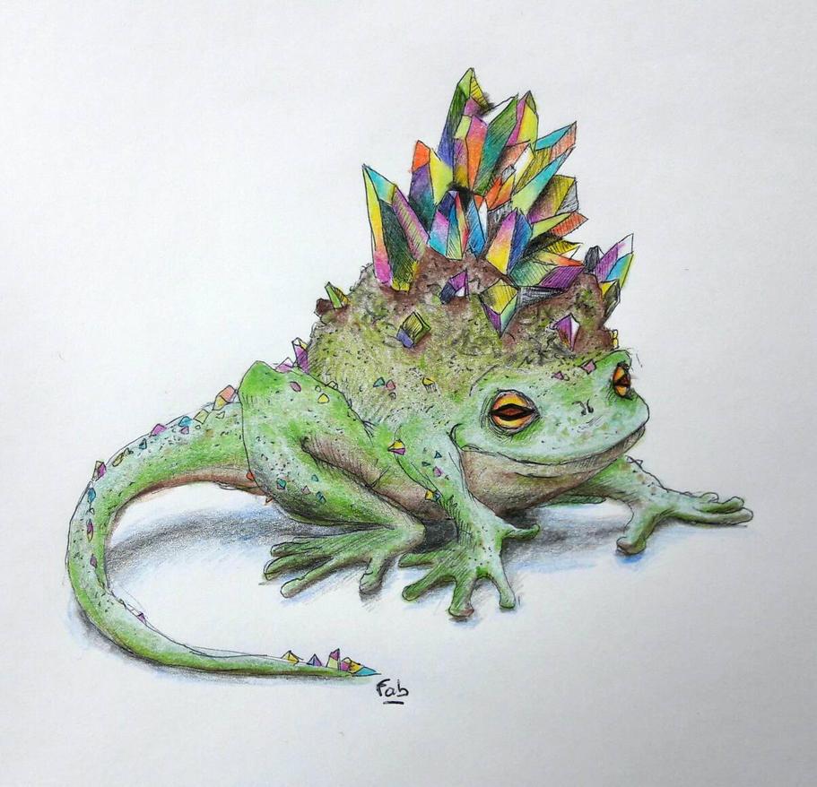 cristal frog by fab-garou